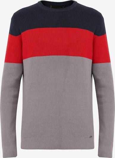 Finn Flare Pullover in grau, Produktansicht