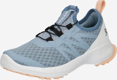 SALOMON Chaussure basse 'SENSE' en bleu clair / pêche / blanc, Vue avec produit