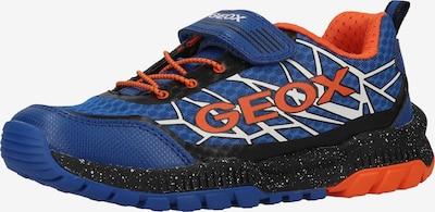 GEOX Sneaker in blau / orange / schwarz / weiß, Produktansicht