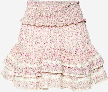 Neo Noir Skirt 'Marna' in White