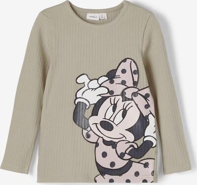 NAME IT T-Shirt en pierre / poudre / noir / blanc, Vue avec produit