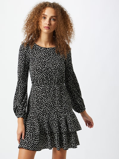 Dorothy Perkins Kleid in schwarz / weiß, Modelansicht