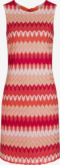 Ana Alcazar Robe en orange / rouge / blanc, Vue avec produit
