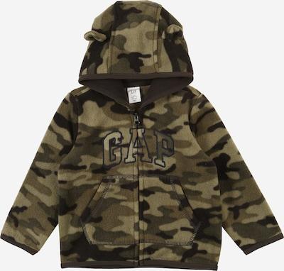 GAP Sweatjacke in dunkelbraun / khaki, Produktansicht