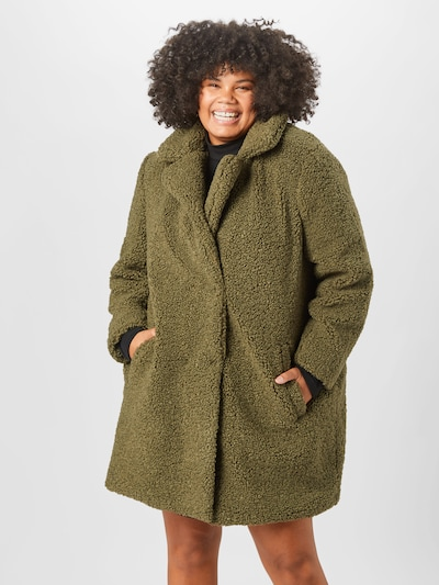 Noisy May Curve Mantel 'Gabi' in grün, Modelansicht