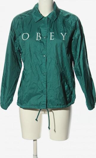 Obey Outdoorjacke in M in türkis / wollweiß, Produktansicht