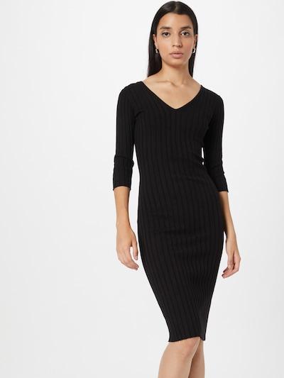 Rochie tricotat 'GISELE' GUESS pe negru, Vizualizare model