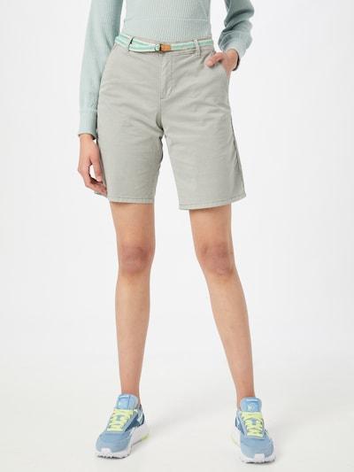 ESPRIT Shorts in hellgrau, Modelansicht