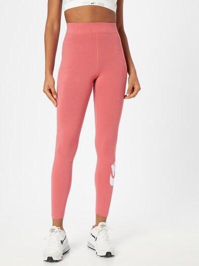 Nike Sportswear Leggings in pink / weiß, Modelansicht