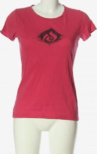 Iriedaily U-Boot-Shirt in M in pink / schwarz, Produktansicht