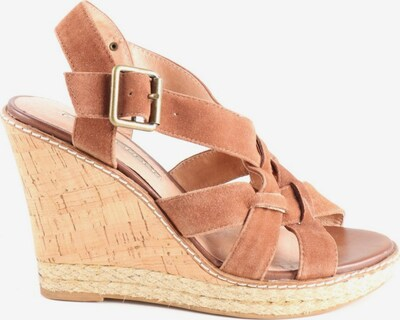 Buffalo London Wedges Sandaletten in 37 in braun, Produktansicht