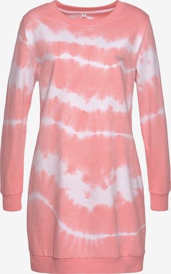 BUFFALO Kleid in pfirsich / weiß, Produktansicht