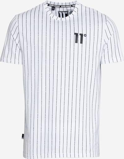 11 Degrees Тениска в черно / бяло, Преглед на продукта