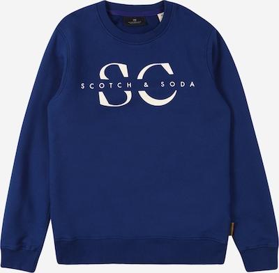 SCOTCH & SODA Sweatshirt in dunkelblau / weiß, Produktansicht