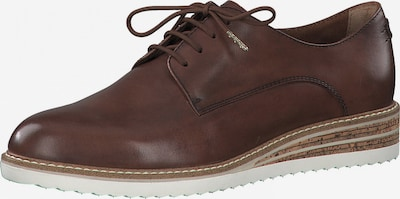 TAMARIS Lace-up shoe in Chestnut brown, Item view