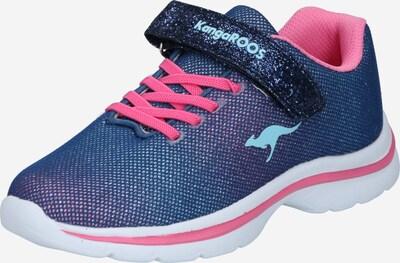 KangaROOS Sneaker 'Kangashine EV II' in blau / pink, Produktansicht