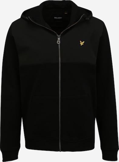 Lyle & Scott Tepláková bunda - zlatá žltá / čierna, Produkt