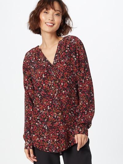 ESPRIT Bluse in hellblau / gelb / rot / schwarz / weiß, Modelansicht