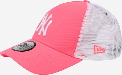 NEW ERA Casquette en rose / blanc, Vue avec produit