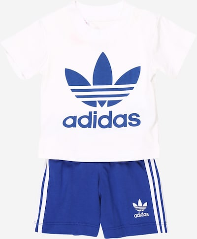 ADIDAS ORIGINALS Set 'Trefoil' in royalblau / weiß, Produktansicht