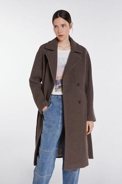 SET Mantel in taupe, Modelansicht