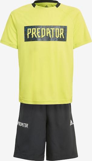 ADIDAS PERFORMANCE Jogginganzug in gelb, Produktansicht