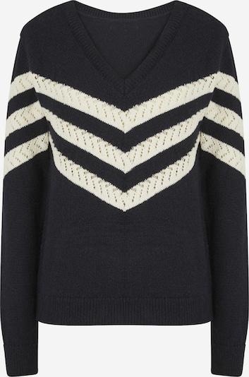 NAF NAF Pullover 'Marina' in marine / weiß, Produktansicht