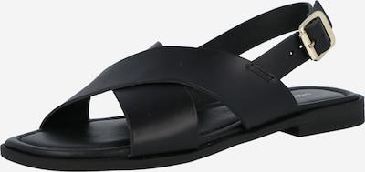 Sandale Shoe The Bear pe negru, Vizualizare produs