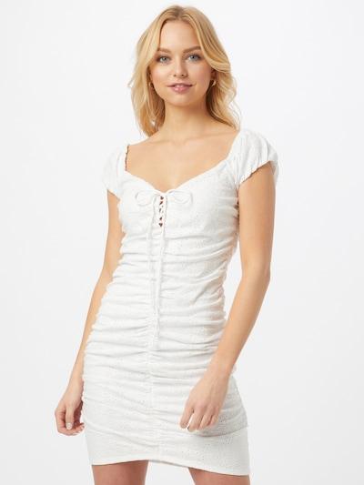 GUESS Kleid 'Ingrid' in weiß, Modelansicht