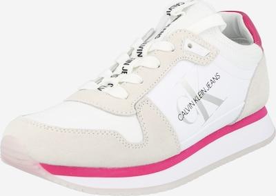 Calvin Klein Jeans Zemie brīvā laika apavi gaiši pelēks / fuksijkrāsas / melns / balts, Preces skats