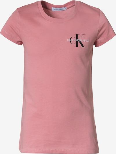 Calvin Klein Jeans Majica u prljavo roza / crna / bijela, Pregled proizvoda