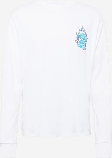 Urban Threads T-Shirt en bleu clair / rouge / blanc, Vue avec produit