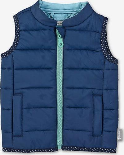 STERNTALER Steppweste in blau / türkis / hellblau / dunkelblau / weiß, Produktansicht