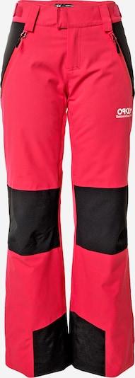 OAKLEY Outdoor hlače | roza / črna barva, Prikaz izdelka