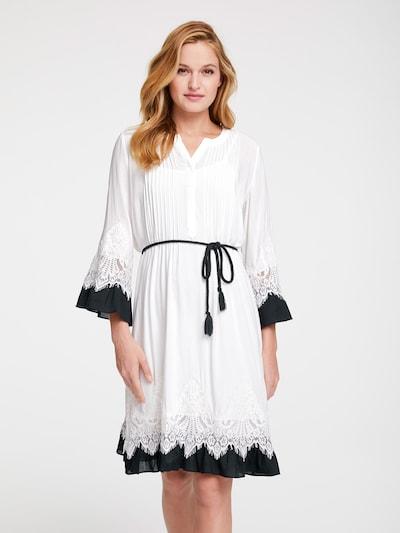 heine Šaty - čierna / biela, Model/-ka