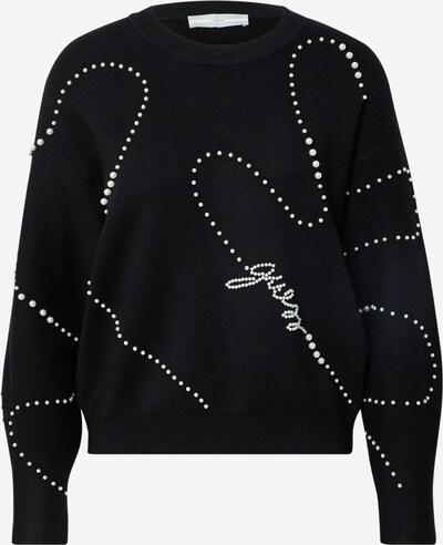 GUESS Pullover 'GINNY' in schwarz / weiß, Produktansicht