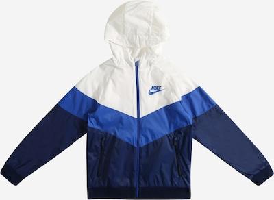 Nike Sportswear Jacke in navy / royalblau / weiß, Produktansicht