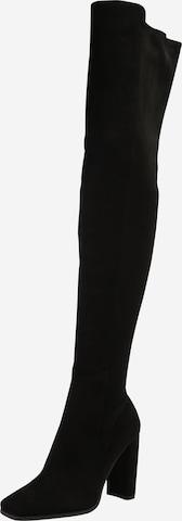 ALDO Čižmy nad koleno 'CHOAN' - Čierna
