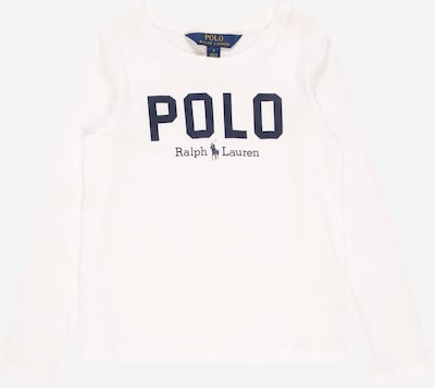POLO RALPH LAUREN Shirt in marine / weiß, Produktansicht