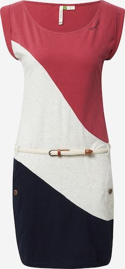 Ragwear Ljetna haljina u crno plava / pastelno crvena / bijela, Pregled proizvoda