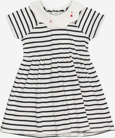 PETIT BATEAU Kleid 'ROBE' in schwarz / weiß, Produktansicht