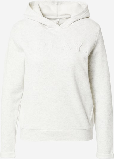 ONLY PLAY Sportsweatshirt 'Shau' in weißmeliert, Produktansicht