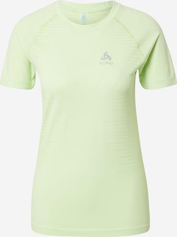 ODLO Funksjonsskjorte i grønn