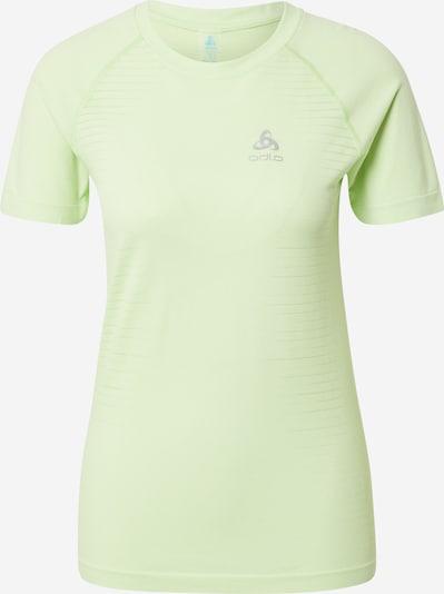 ODLO Functioneel shirt in de kleur Zilvergrijs / Mintgroen, Productweergave