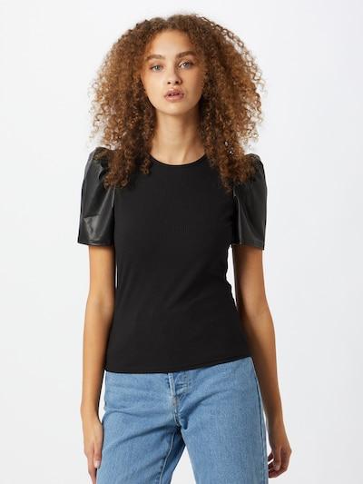 Miss Selfridge Skjorte i sort: Frontvisning