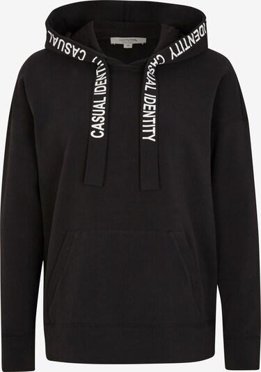 Ci comma casual identity Sweatshirt in schwarz / weiß, Produktansicht
