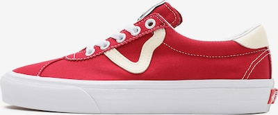 Sneaker low 'UA Vans Sport' VANS pe roșu / alb, Vizualizare produs