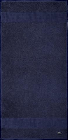 LACOSTE Towel 'LE CROCO' in Blue