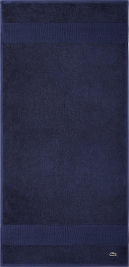 LACOSTE Gästehandtuch  'LE CROCO' in blau / marine / dunkelblau, Produktansicht