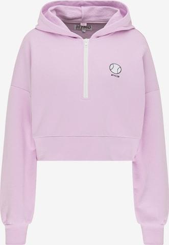myMo ATHLSR Sweatshirt in Purple